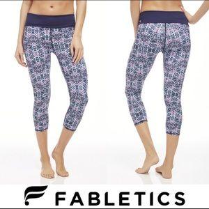 Fabletics Salar PowerHold Capri Yoga Pants